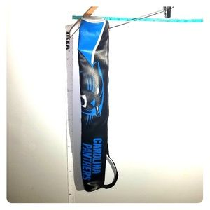 nwot Carolina Panthers Pool Stick Holder